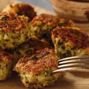 Broccoli and Spirulina Nibbles Recipes