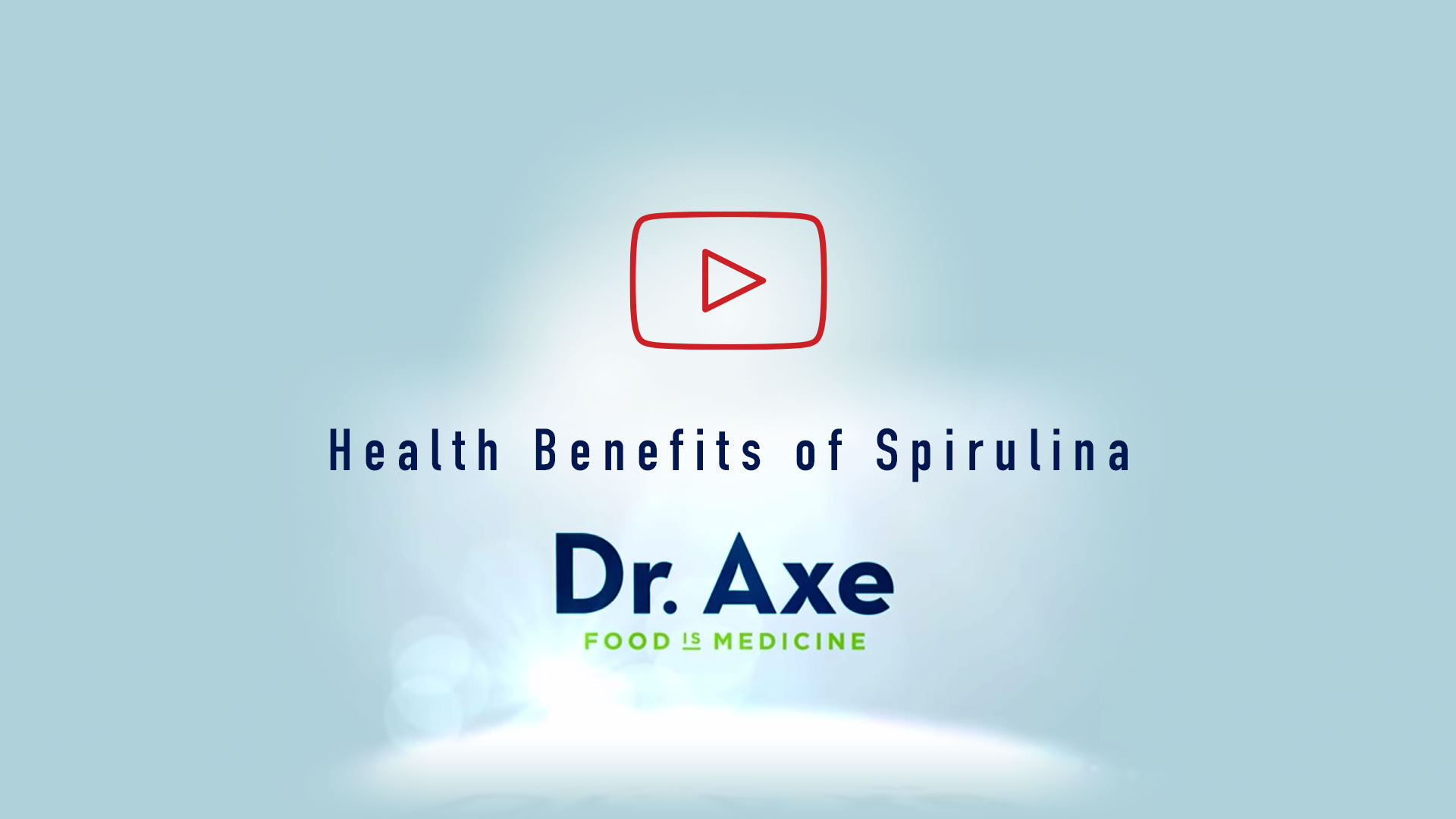 The health benefits of Spirulina